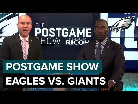 Philadelphia Eagles vs. New York Giants Postgame Show | 2018 Week 6