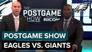 Philadelphia Eagles vs. New York Giants Postgame Show   2018 Week 6