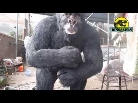 Customized Animatronic King Kong Gorilla - Animal Models Item Number DWA136