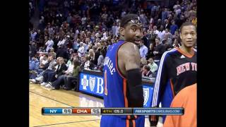 Amare Stoudemire: Jersey Number Ripped off