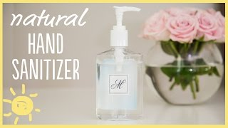 Little hands carry lots of germs and i found the perfect recipe for an all natural effective hand sanitizer that you can make with just a few simple ingr...
