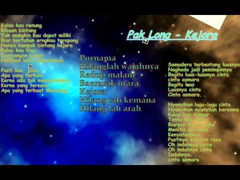 Pak Long-Kejora With Lyric