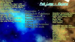 Video Pak Long-Kejora With Lyric download MP3, 3GP, MP4, WEBM, AVI, FLV Agustus 2018