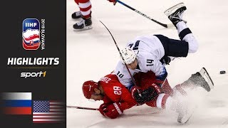 Nach Spektakel: Russland - USA 4:3 | Highlights | Eishockey WM 2019 | SPORT1