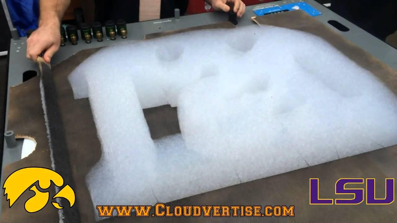 Cloudvertise® Bubloon™ Outback Bowl LSU vs Iowa 3D Foam ...