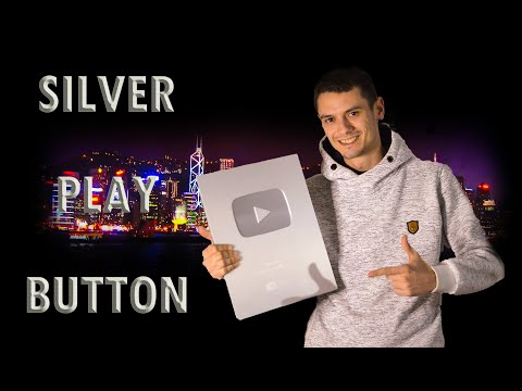 SILVER PLAY BUTTON! DIY YouTube silver play button   CruiseShip Update