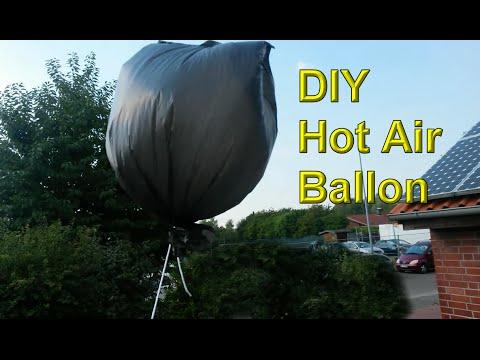 Fabulous Hot Air Luftballon aus Plastiktüte selber machen – Luftballon QD72