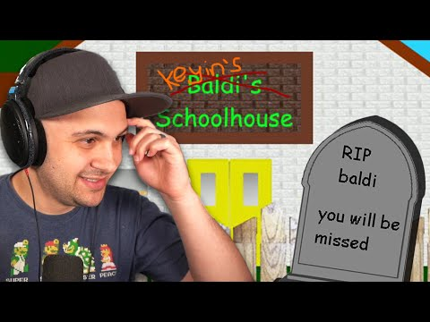 I guess I KILLED Baldi, Again... And took over his school... | Baldi's Basics