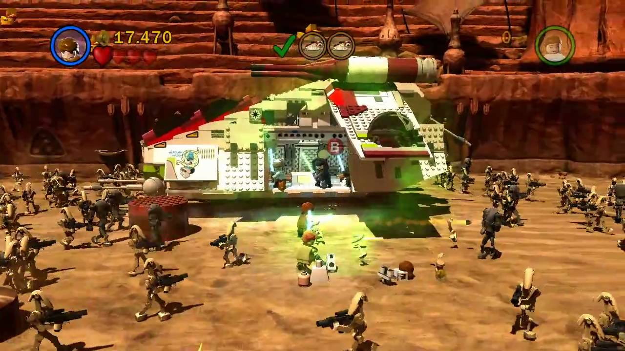 LEGO Star Wars 3 The Clone Wars PC Games Screenshots