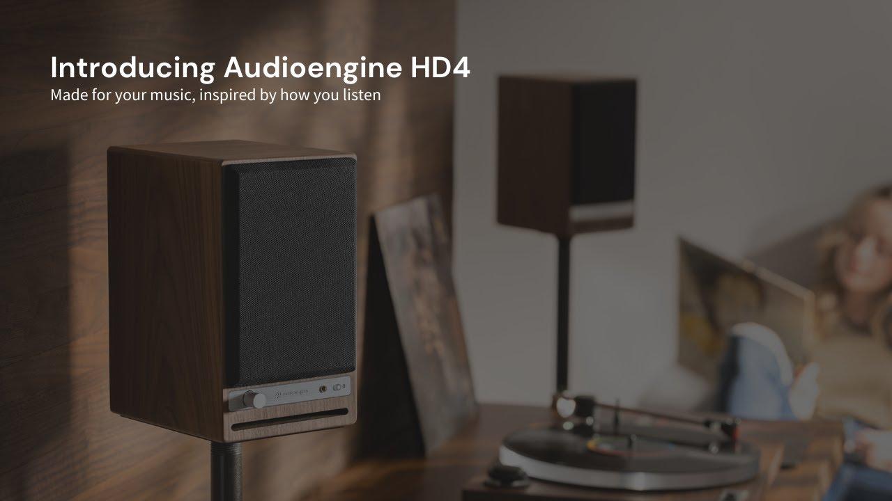 Download Setting up Audioengine's new HD4 Home Music System w/ Bluetooth aptX-HD