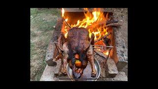 2 nights debris viĮlage camp and spit roast duck