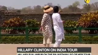 Doctor from Sawai Man Singh hospital examines Hillary Clinton