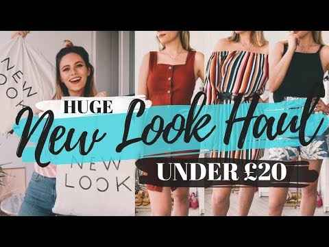 Huge NEW LOOK Haul - UNDER £20!!! || Try On || COCOA CHELSEA