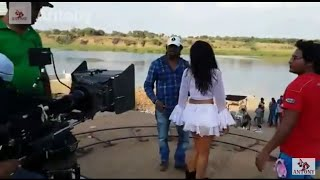 khesarilal & Poonam song making by Anthony