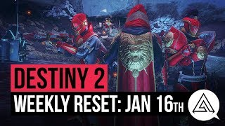 DESTINY 2 | Weekly Reset - Faction Rally Returns! Season 2 Ornaments & More! (January 16th)