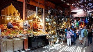 Africa Morocco Marrakech (Marrakesh) city tour Африка Марокко - Марракеш  тур по городу(Africa Morocco. Marrakech - Medina, Bahia Palace, Jardin Majorelle, night life Marrakech is one of the four imperial cities of Morocco, the 4th largest city in the ..., 2015-12-16T13:29:56.000Z)