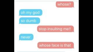 Klance Texting Story