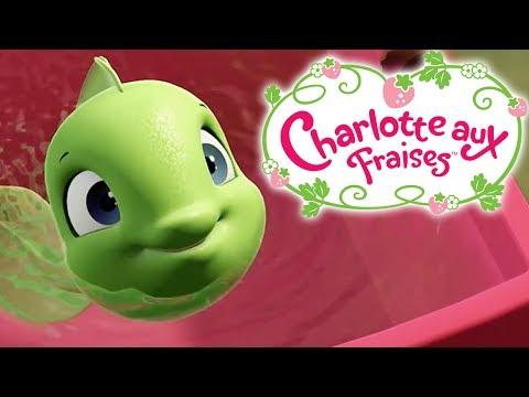 Charlotte aux Fraises ★🍓 Comme un Poisson Hors de L'eau 🍓 ★ Dessin Animé Aventures à Fraisi Paradis