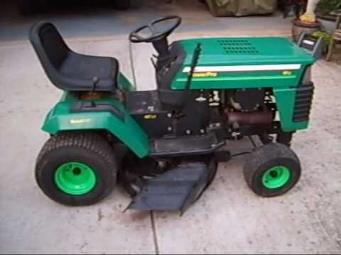 1994 Kgro Lawn Tractor Model Lt4218a Youtube