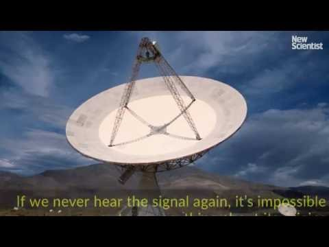 Message from aliens?