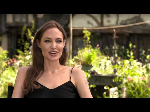 """Maleficent"" Interview with Angelina Jolie"