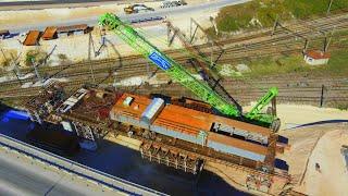 Фото Строительство 8 этапа трассы Таврида. Экспресс-обзор искусственных сооружений.
