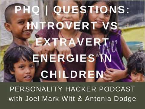 PHQ   QUESTIONS: Introvert vs Extravert Energies in Children
