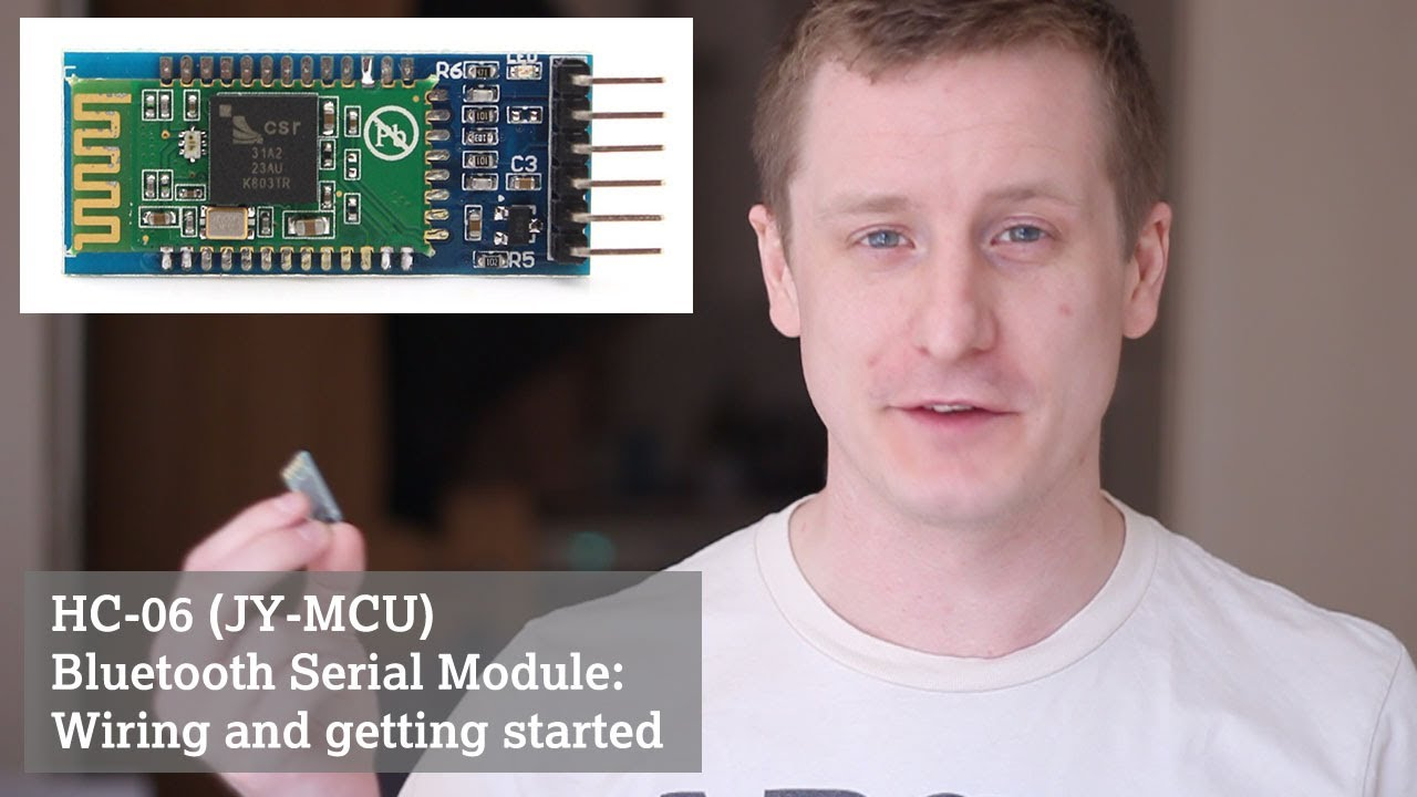 Hc 06 Jy Mcu Bluetooth Serial Module Wiring And Getting Started Kedsum Remote On Off Switch Diagram Youtube