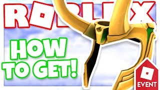 [EVENT] How to get LOKI'S HELM | Roblox Whatever Floats Your Boat