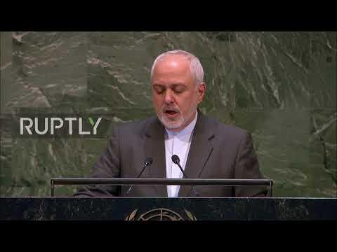 UN: Iran FM Zarif calls on General Assembly to resist US 'unilateralism'
