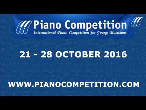 International Piano Competition for Young Musicians - Enschede,  26th of October Part -1