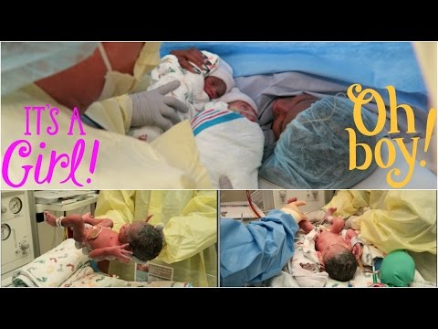 HILARIOUS & EMOTIONAL EMERGENCY DELIVERY OF BOY/GIRL TWINS! | VLOG #1076 | LABOR & DELIVERY VLOG