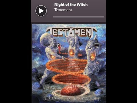 """Download  Testament release new song """"Night Of The Witch"""" off new album """"Titans Of Creation"""" Gratis, download lagu terbaru"""