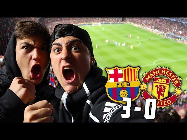 REACCIONANDO AL FC BARCELONA 3-0 MANCHESTER UNITED