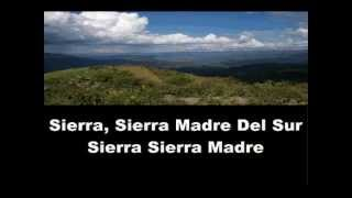 Sierra Madre - Lyrics