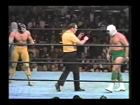 MIL MASCARAS VS THE DESTROYER - JAPAN 10/09/73