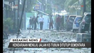 Download Video Massa Lempar Batu Hingga Bom Molotov ke Polisi di Dekat Asrama Brimob KS Tubun MP3 3GP MP4