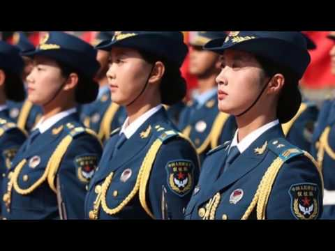 Big long legs! The most beautiful group of women in China, the Chinese women's soldiers