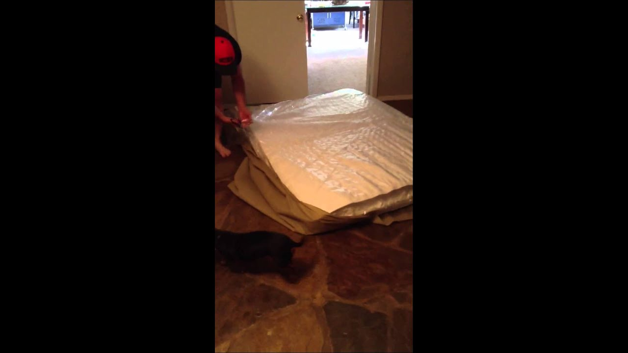 Mattress in a box from Walmart Slumber 1 YouTube