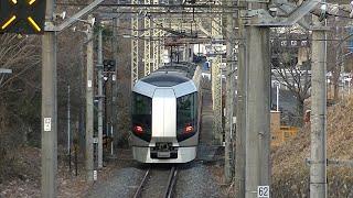 東武鬼怒川線 500系 特急「リバティ会津」 大桑-新高徳kosagoe