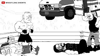John Cena vs Roman Reigns No Mercy Cartoon Predictions