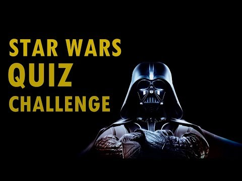 Starwars Quiz Challenge - Only The Real Fans Can Pas This Test