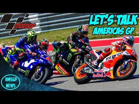 MotoGP 2018: America Grand Prix - Let's Talk