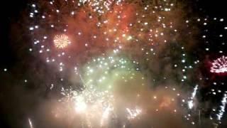 feu d artifice de nancy le final 2009