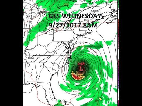 HURRICANE MARIA MOVING AWAY FROM THE BAHAMAS, WEATHER MODELS LONG TERM