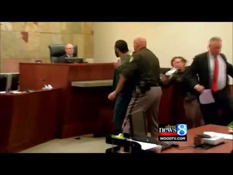 Courtroom Outburst: Sentence to Life for Murder