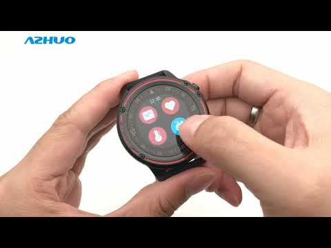 Microwear L8 Smart Watch ECG+PPG Waterproof IP68 Smartwatch Review