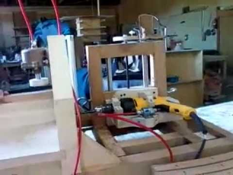 home made horizontal boring machine - YouTube