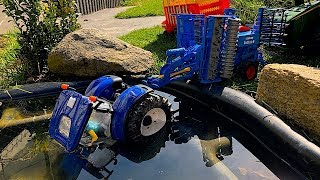 BRUDER RC TRACTOR ride problems! Rescue Mission Tractor John Deere