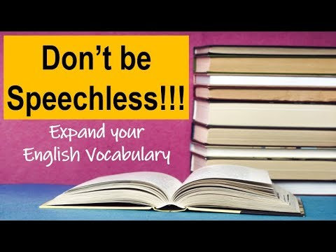 5 Easy Ways to Expand your Vocabulary | English 101 thumbnail